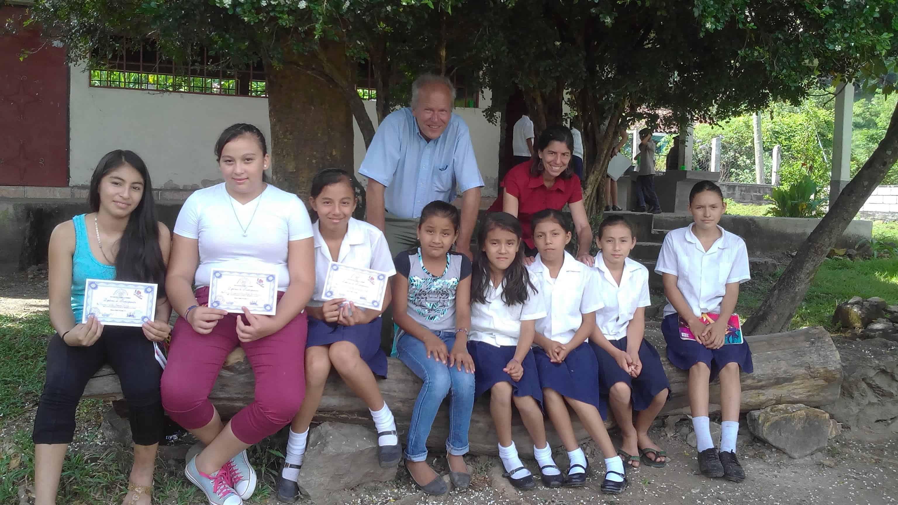 Yo Puedo Girls at Caridad, San Antonio