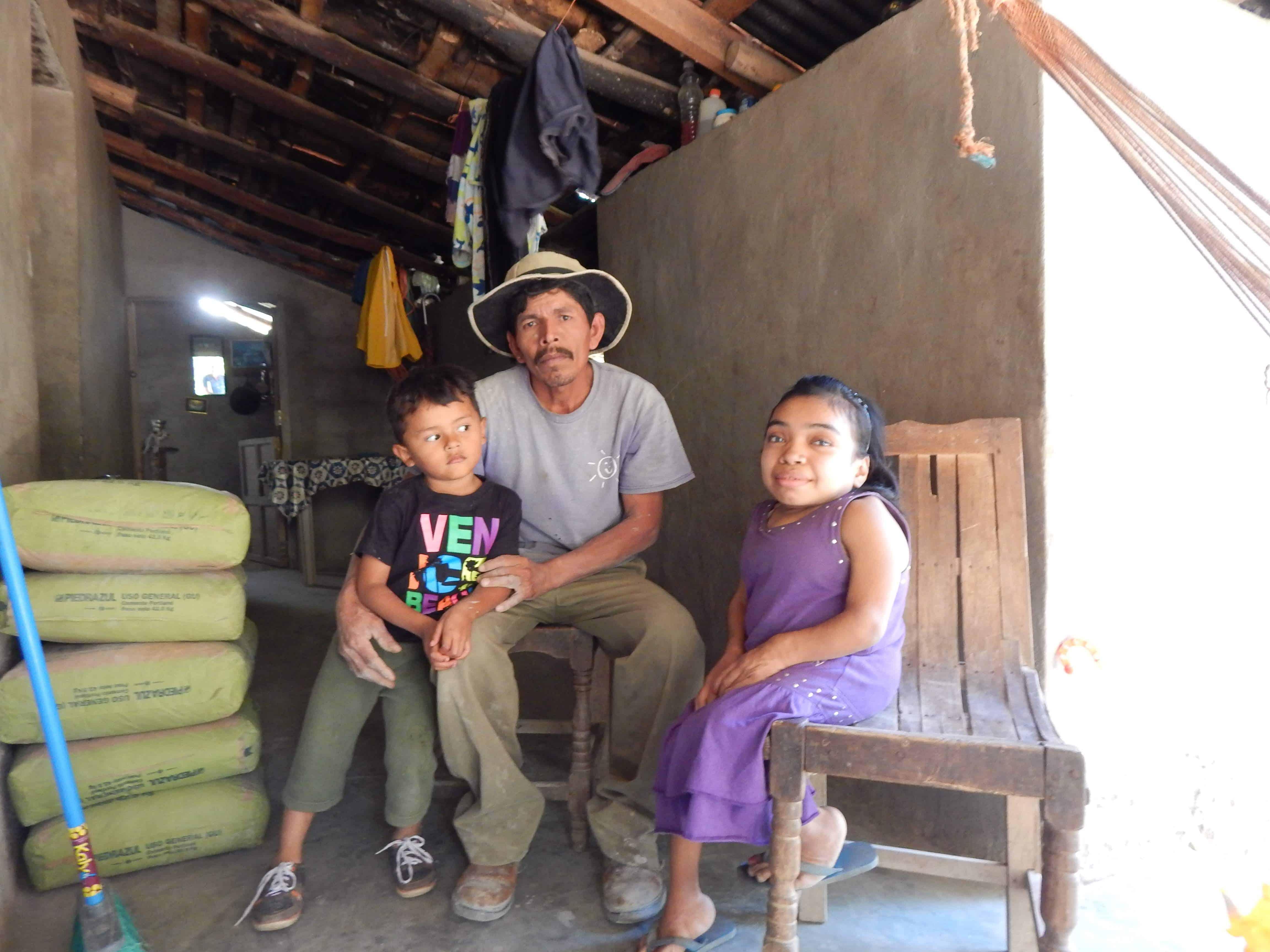 German, Daughter Iris, and Son Juan Carlos