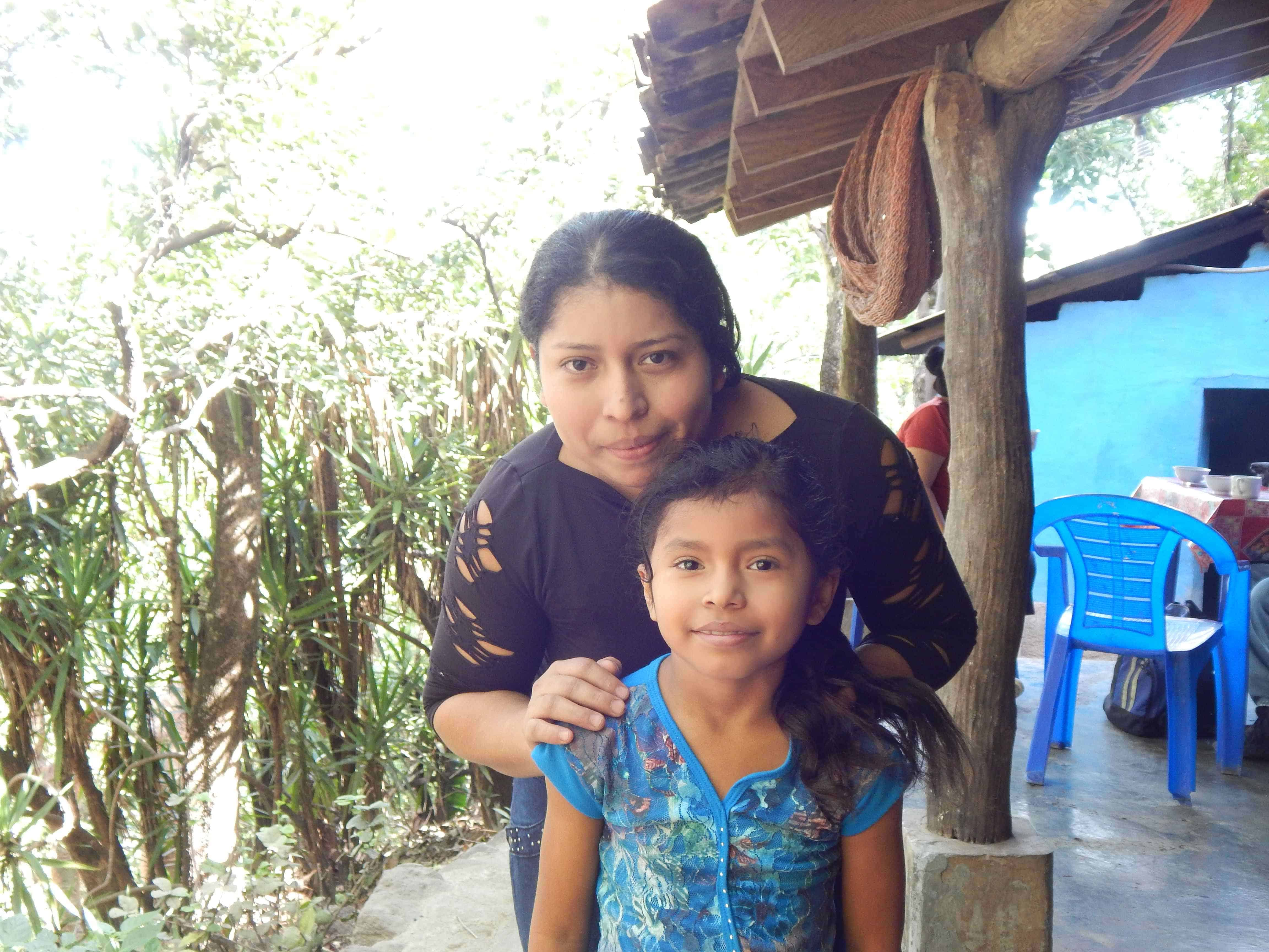 Maria Dolores and Daughter Keilyn